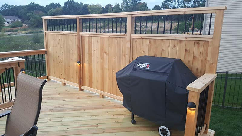 Deck Railings Privacy Walls Miles