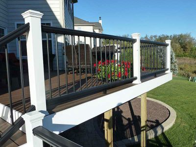 Deck Railings & Privacy WallsDeck Railings & Privacy Walls