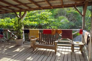 wooden-railing-with-hanging-clothes-1239061-m