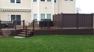 deck, privacy gate