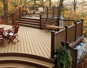 Looking at Homes with Decks