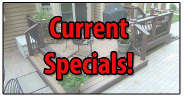 Current Specials For Michigan Deck Builders Miles Bradley