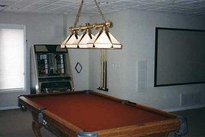 Finish your basement with game room