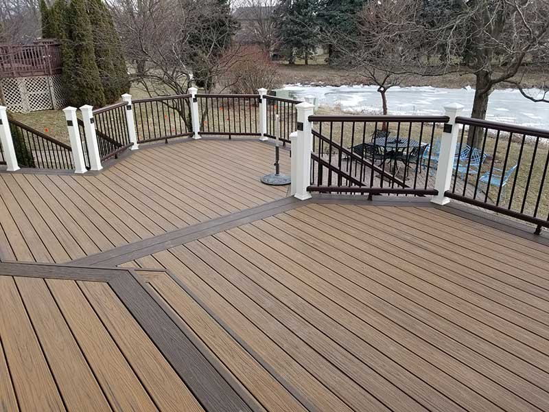 Maintain a Trex Deck This Fall